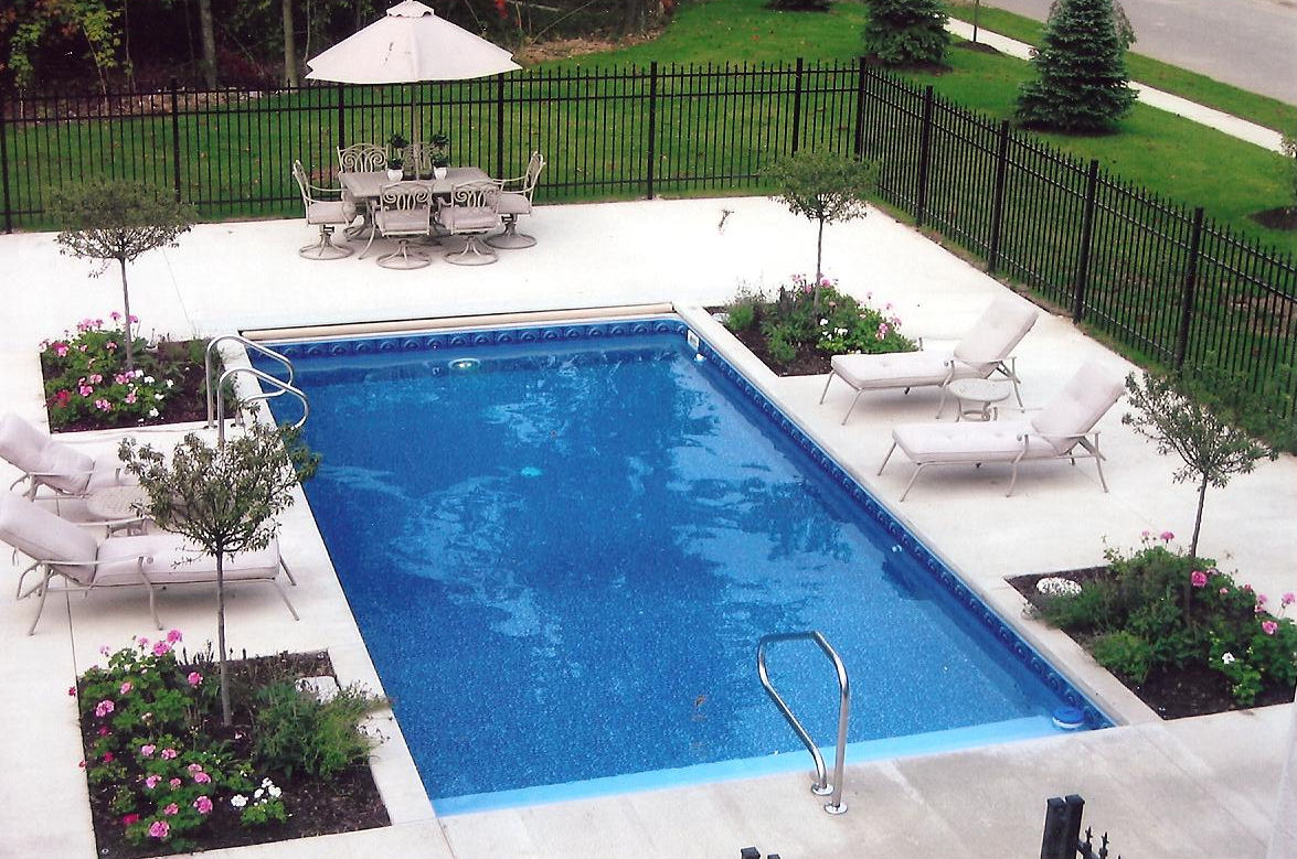 Rainbow pools your local pool professionals - Cheap inground swimming pool liners ...